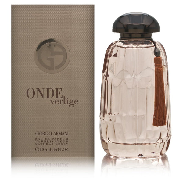Onde Vertige by Giorgio Armani for Women 3.4 oz Eau de Parfum Spray