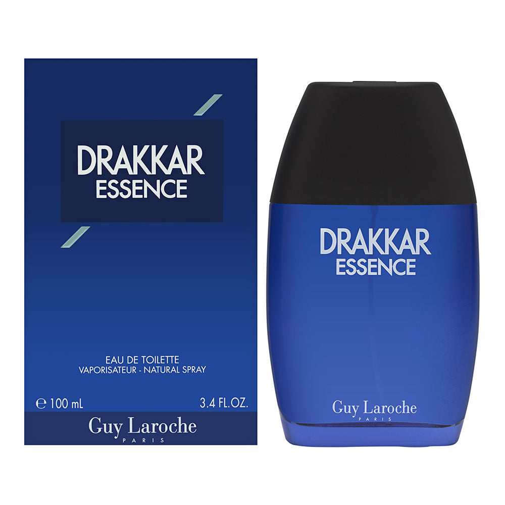 Drakkar Essence by Guy Laroche for Men 3.4 oz Eau de Toilette Spray