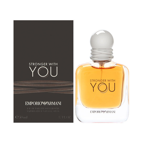 Emporio Armani Stronger With You for Men 1.7 oz Eau de Tolilette Spray