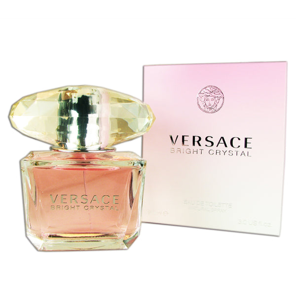 Versace Bright Crystal for Women 3 oz 90 ml Eau de Toilette Spray
