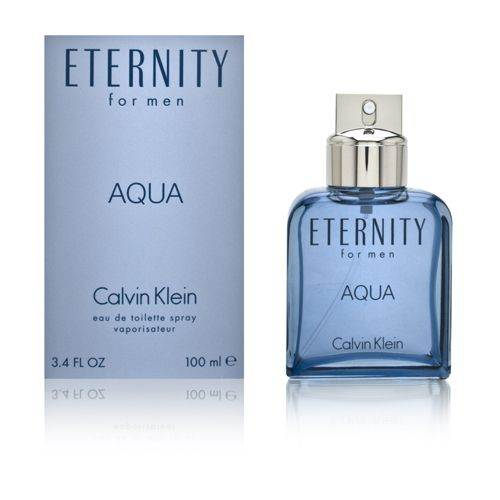 Eternity Aqua For Men by Calvin Klein 3.4 oz Eau de Toilette Spray