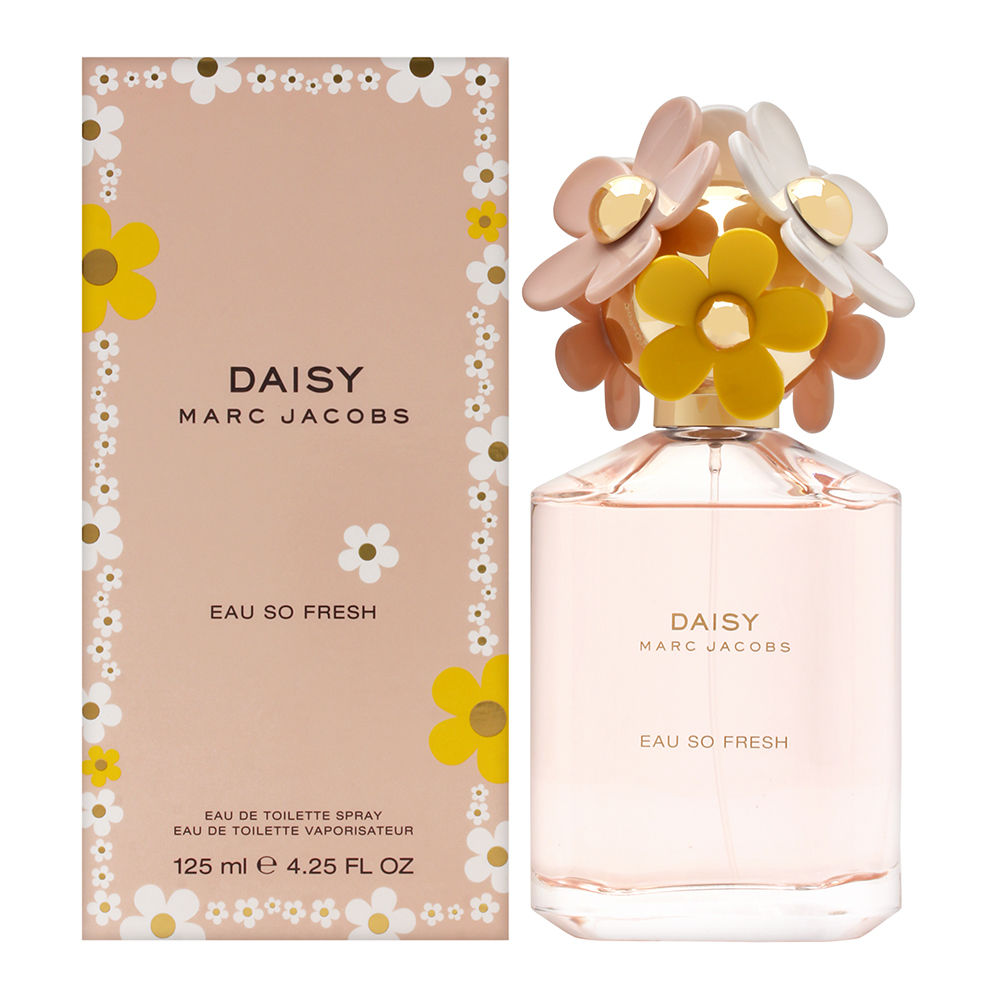 Daisy Eau So Fresh by Marc Jacobs for Women 4.25 oz Eau de Toilette Spray