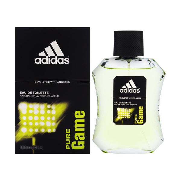 Adidas Pure Game by Coty for Men 3.4 oz Eau de Toilette Spray