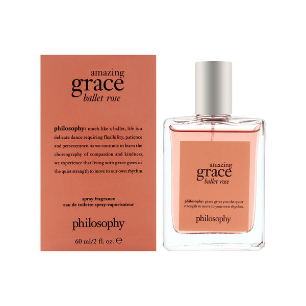 Philosophy Amazing Grace Ballet Rose 2.0 oz Eau De Toilette Spray