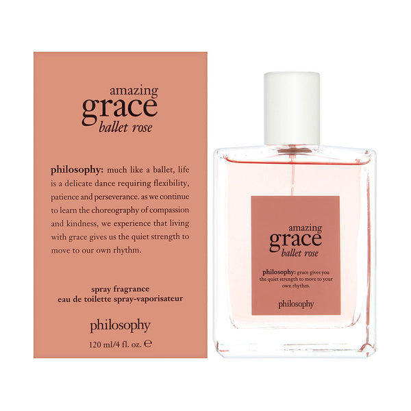 Philosophy Amazing Grace Ballet Rose 4.0 oz Eau De Toilette Spray