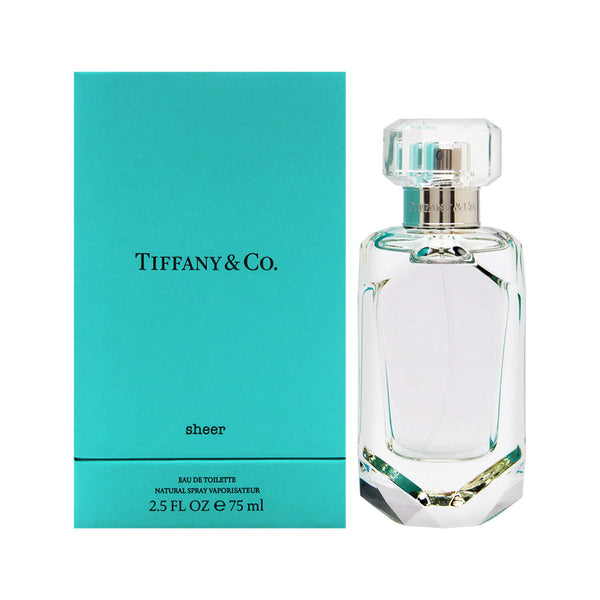 Tiffany Sheer by Tiffany & Co. for Women 2.5 oz Eau de Toilette Spray