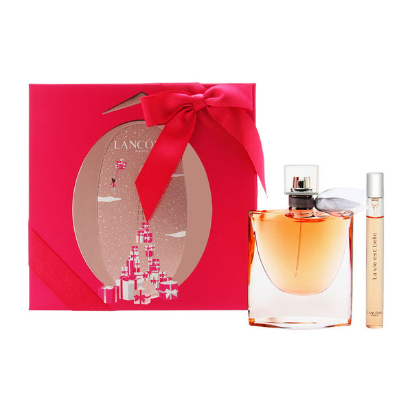 La Vie Est Belle by Lancome for Women 2 Piece Set Includes: 2.5 oz L'Eau de Parfum Spray + 0.34 oz L'Eau de Parfum Spray