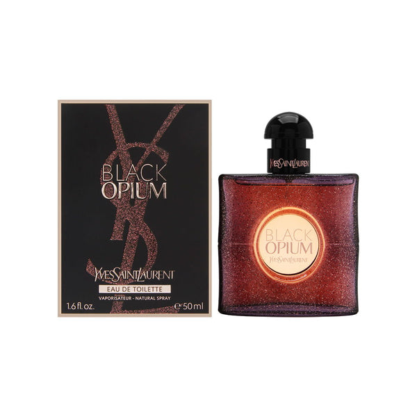 Black Opium by Yves Saint Laurent for Women 1.6 oz Eau de Toilette Spray