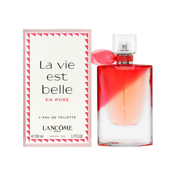 La Vie Est Belle En Rose by Lancome for Women 1.7 oz L'eau de Toilette Spray