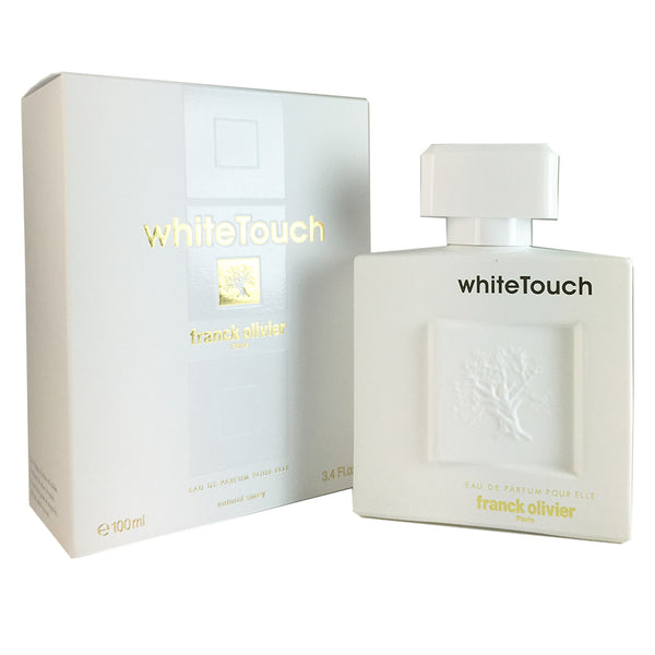 White Touch For Women by Frank Olivier 3.4 oz Eau De Parfum Natural Spray
