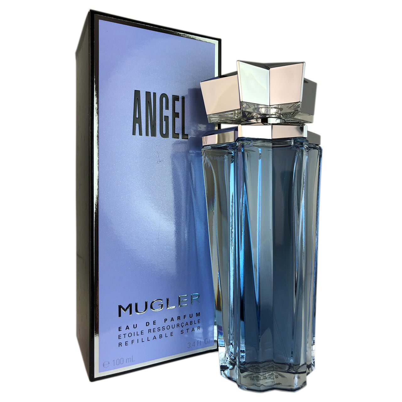 Angel for Women by Thierry Mugler 3.4 oz Eau de Parfum Refillable Spray