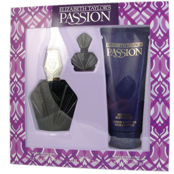 Passion For Women by Elizabeth Taylor 3 Pcs Set