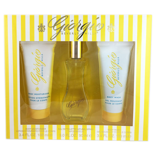 Giorgio for Women by Giorgio Beverly Hills 3 Pcs Set