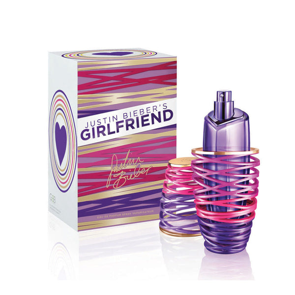 Girlfriend for Women by Justin Biebere 3.4 oz Eau de Parfum Spray