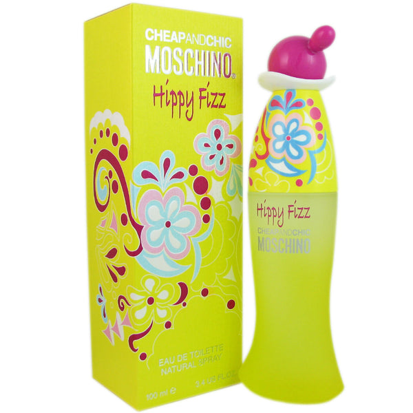 Moschino Chic and Hippy Fizz Fo Woman By Moschino 3.4oz Eau de Toilette Spray