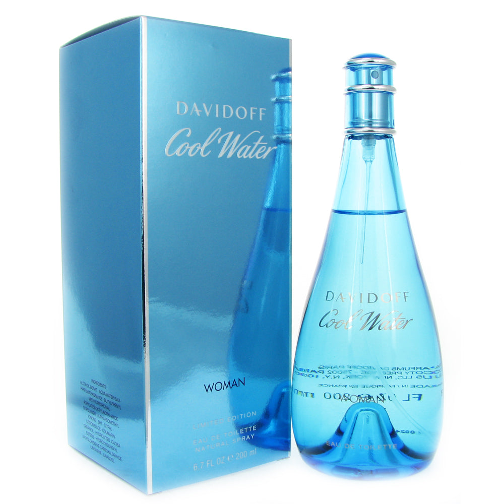 Cool Water for Women Limited Edition by Davidoff 6.7 oz Eau de Toilette Spray