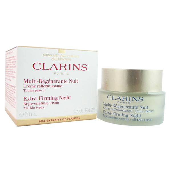 Clarins Extra Firming Night Cream (All Skin Types) 1.6 Oz