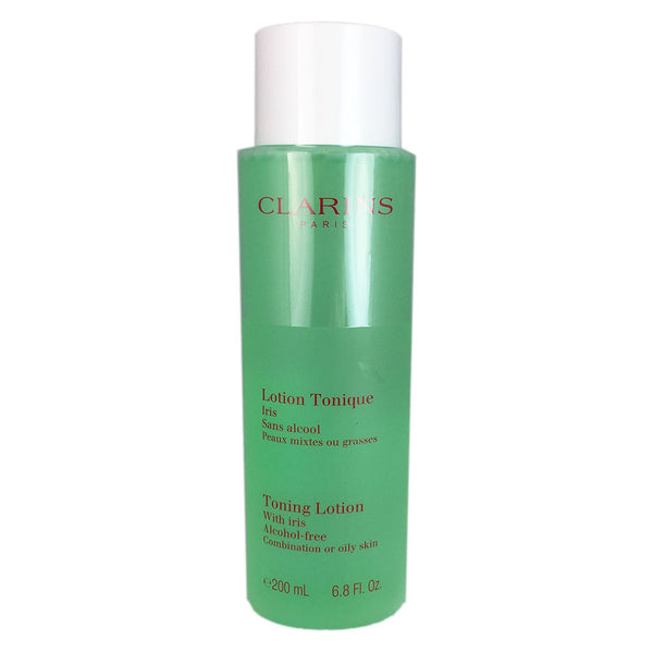 Clarins Face Toning Lotion With Iris 6.8 oz Combination to Oily Skin