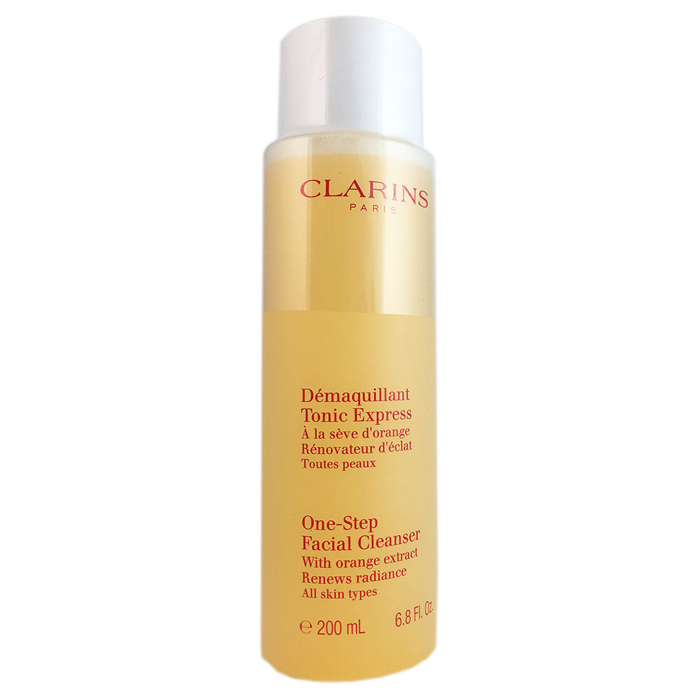 Clarins One Step Facial Cleanser with Orange Extract All Skin Types 200 ml 6.8 oz
