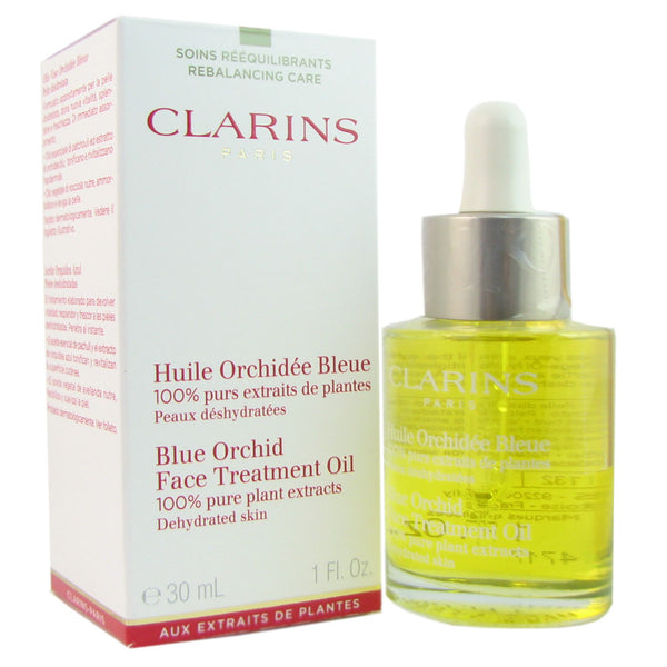 Clarins Blue Orchid Face Treatment Oil 1oz