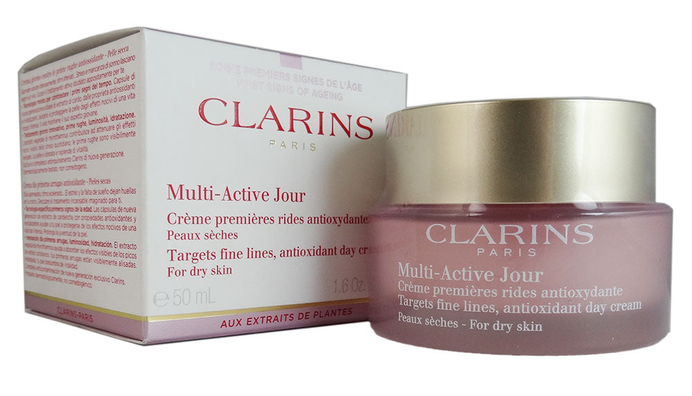 Clarins Multi-Active Jour Day Cream 1.6 oz (Dry Skin)