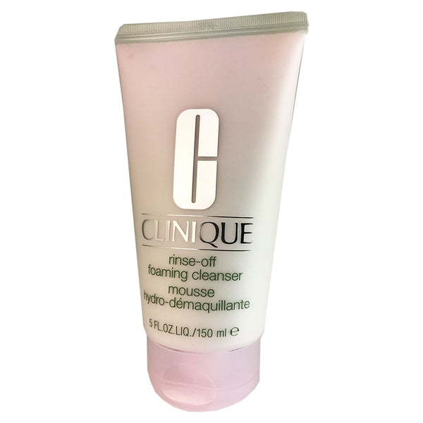 Clinique Rinse-off Foaming Face Cleanser Mousse  5 oz