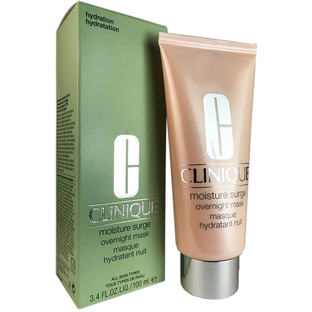 Clinique Moisture Surge Overnight Face Mask 3.4 oz For All Skin Types