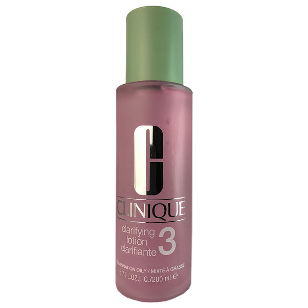 Clinique Clarifying Lotion # 3 for Face 6.7 oz for Combination to Oily Skin