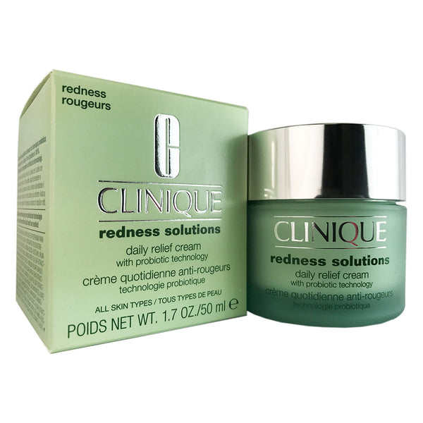 Clinique Redness Solutions Daily Relief Face Cream 1.7 oz for All Skin Types