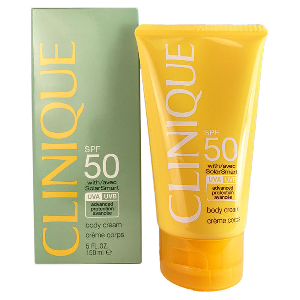 Clinique Solarsmart Body Cream SPF 50  5 oz.