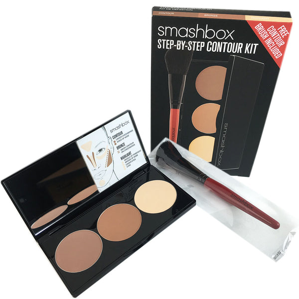 Smashbox Step by Step Contour Kit with Brush Light/Medium