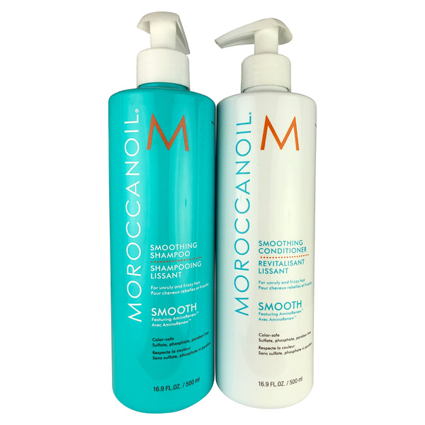 Moroccanoil Smoothing Shampoo & Conditioner DUO 16.9 oz