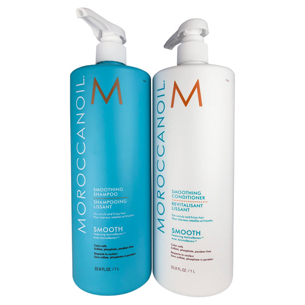 Moroccanoil Smoothing Shampoo & Conditioner  DUO 33.8 oz
