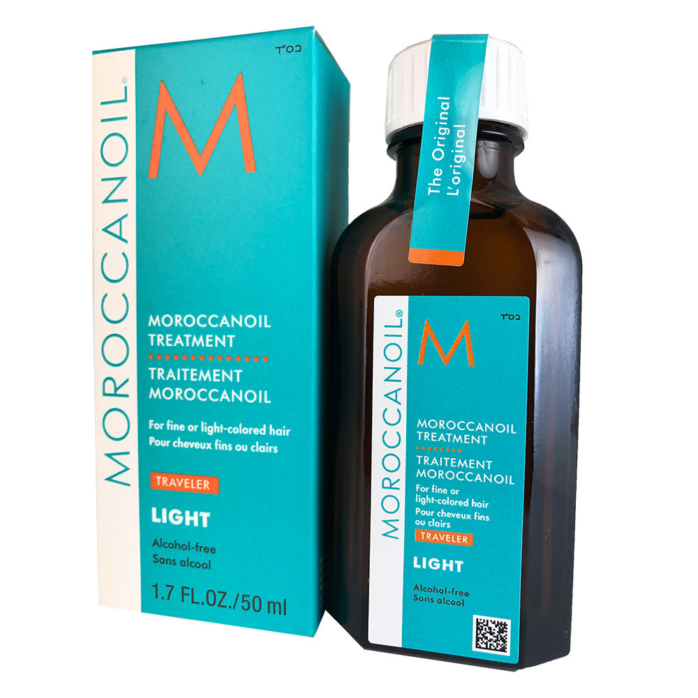 Moroccanoil Treatment for Fine to Light Colored Hair 1.7 oz Travel Size