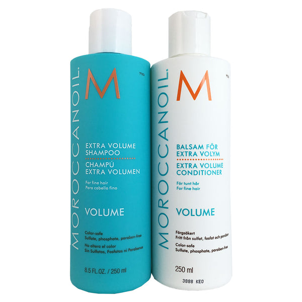Moroccanoil Extra Volume Shampoo and Conditioner Special Value Set 2 pieces