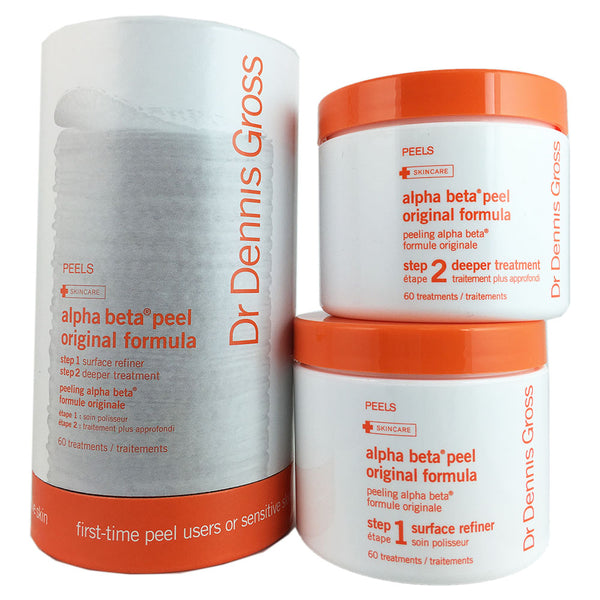 Dr. Gross Alpha Beta Daily Face Peel 60 Application Jar
