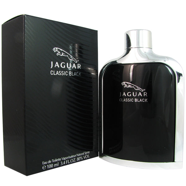 Jaguar Classic Black for Men 3.4 oz Eau de Toilette Spray