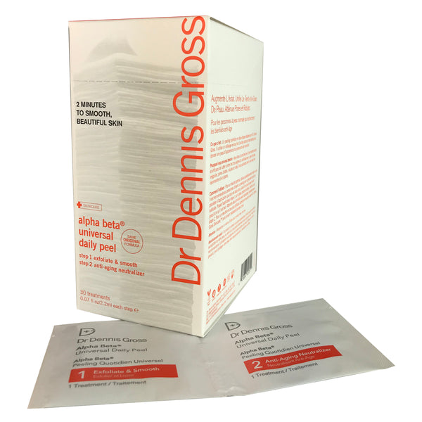 Dr. Gross Alpha Beta Daily Face Peel 30 Packettes