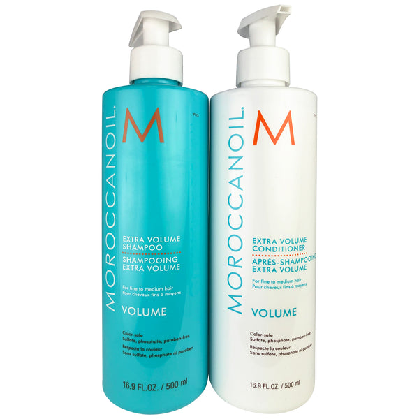 Moroccanoil Extra Volume Shampoo & Conditioner DUO 16.9 oz