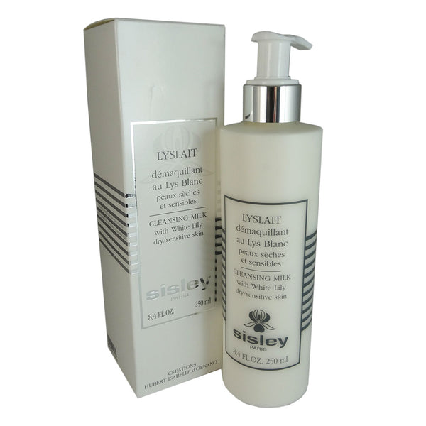 Sisley Cleansing Milk with White Lily 8.4 oz Dry/Sensitive Skin