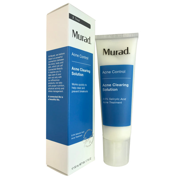 Murad Acne Control Acne Clearing Face Solution 1.7 oz