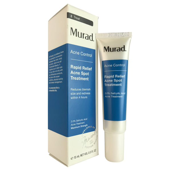 Murad Acne Control Rapid Relief Acne Spot Face Treatment 0.5 oz