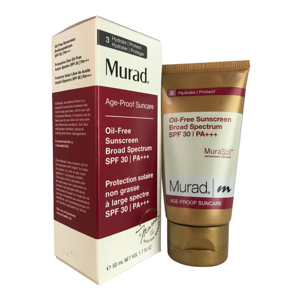 Murad Age-proof Suncare Oil Free Sunscreen SPF 30 1.7 oz for Face