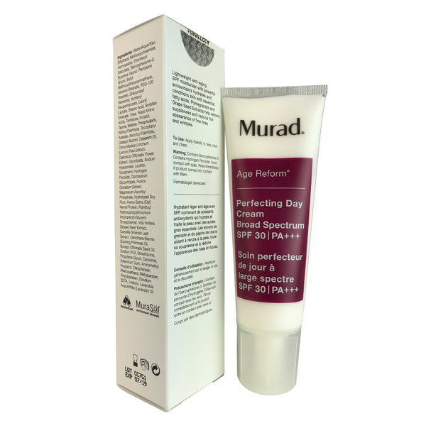 Murad Age Reform Perfecting Day Face Cream SPF 30 1.7 oz