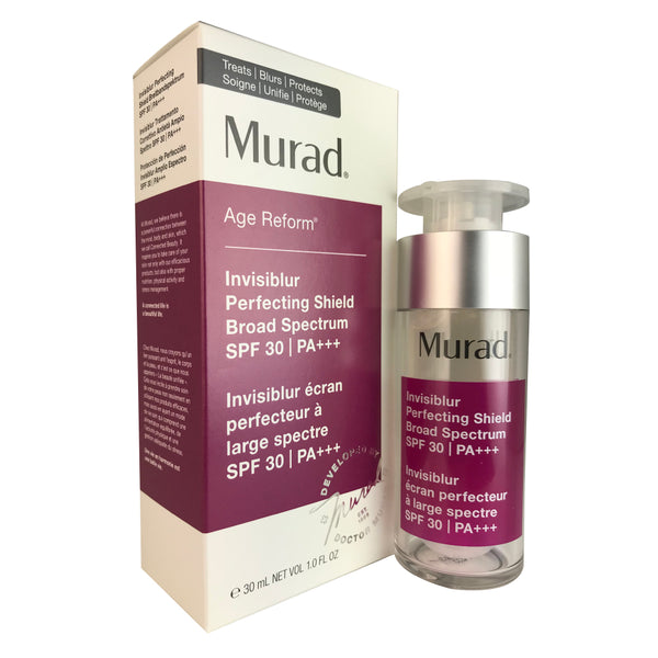 Murad Age Reform Invisiblur Perfecting Shield SPF 30 1 oz for Face
