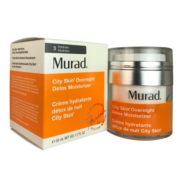 Murad Environmental Shield City Skin Overnight Detox Face Moisturizer 1.7 oz