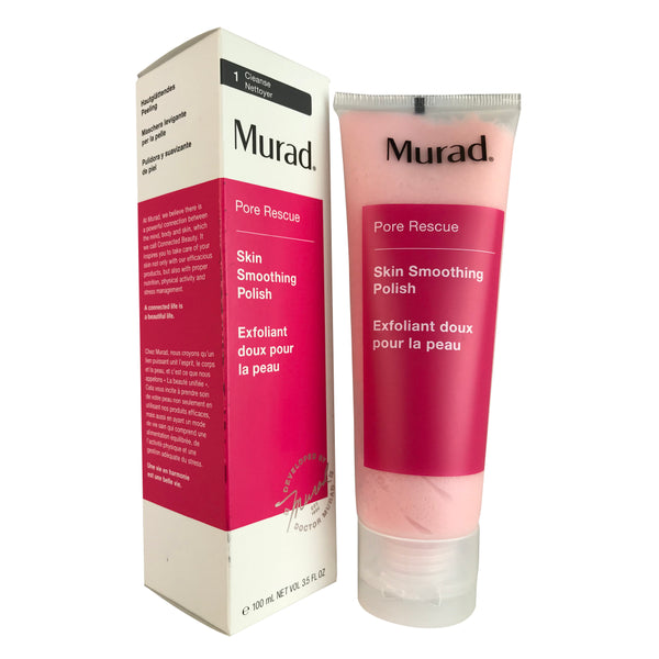 Murad Pore Rescue Skin Smoothing Face Polish Lotion 3.5 oz