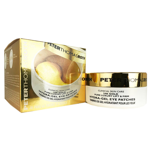 Peter Thomas Roth 24k Gold Pure Luxury Lift and Firm Hydra-gel Eye Patches 60 Ct