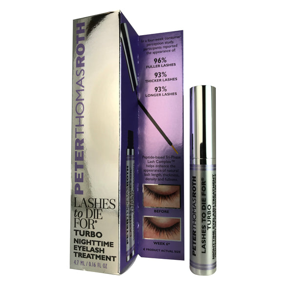 Peter Thomas Roth Lashes To Die For Turbo Nighttime Eyelash Treatment 0.16 oz