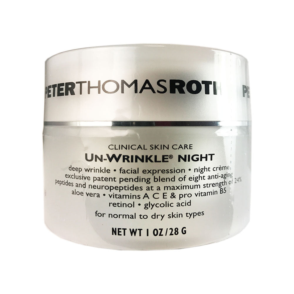 Peter Thomas Roth Un-wrinkle Night Face Cream 1 oz